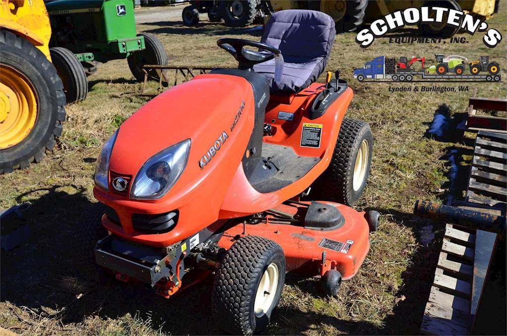 Kubota Gr2100 Riding Lawn Mower For Sale 860 Hours