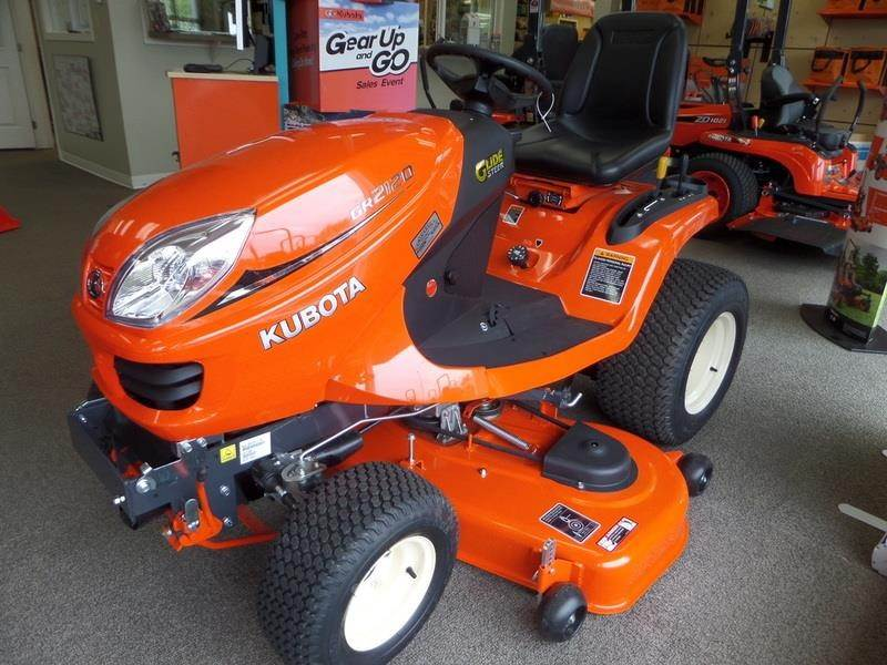 2018 kubota gr2120 riding lawn mower for sale lynden wa. Black Bedroom Furniture Sets. Home Design Ideas