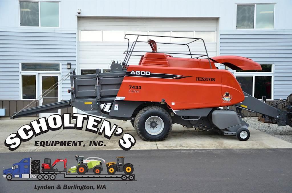 2008 AGCO 7433 Square Baler For Sale | Lynden, WA | 45695 |  MyLittleSalesman com