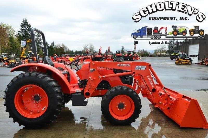 2019 Kubota M5660SUHD Tractor For Sale | Lynden, WA