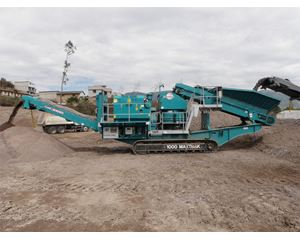 Powerscreen 1000 MAXTRAK Crushing Plant