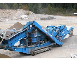 Powerscreen 1000SR MAXTRAK Crushing Plant