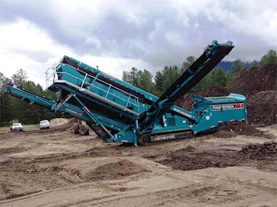 2017 Powerscreen Chieftain 2100X Screening Plant For Sale, 8 Hours