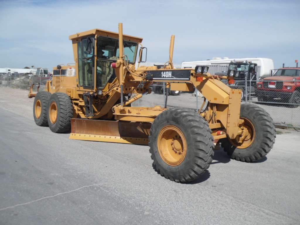 1999 Caterpillar 140h Motor Grader For Sale Las Vegas