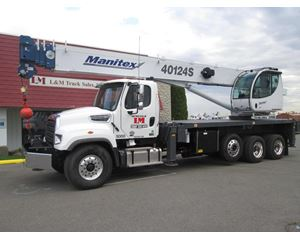 Manitex 40124S Boom Truck Crane