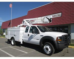Ford F550 XLT Crew Cab Bucket / Boom Truck