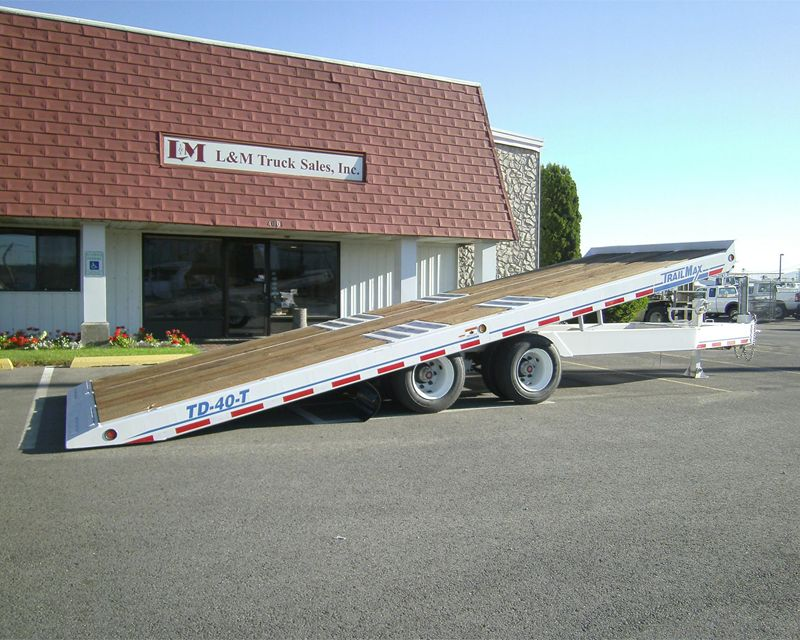 2012 Trail King TD-40-T TILT DECK Flatbed Trailer