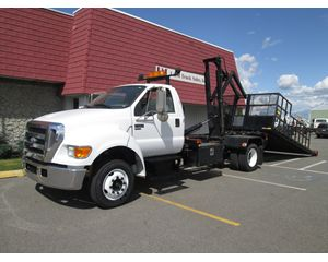 Ford F650 Flatbed Truck