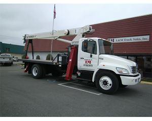 Hino 268 Medium Duty Dump Truck