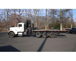 HIAB 260AW Boom Truck Crane