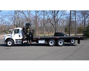 HIAB 300-6 Boom Truck Crane