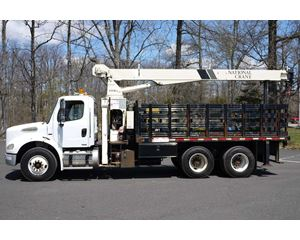 National 400B Boom Truck Crane
