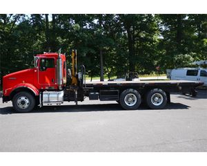 Kenworth T800 Crane Truck