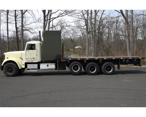 Freightliner FLD120 Flatbed Truck