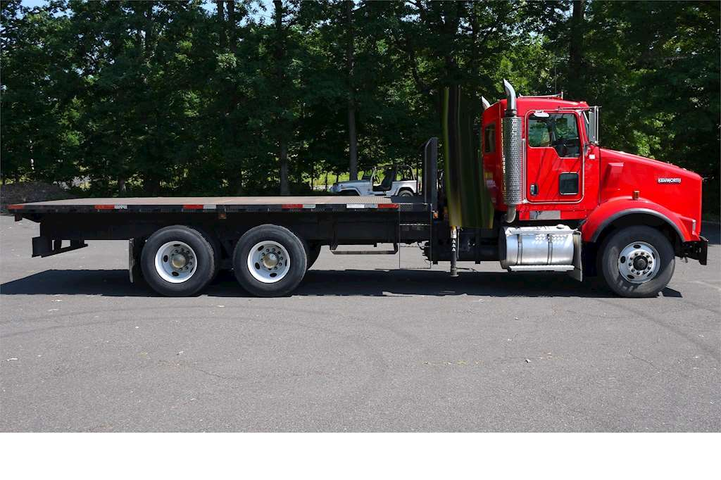 Used Trucks For Sale In Pa >> 2005 Kenworth T800 Flatbed Truck For Sale, 558,289 Miles | Hatfield, PA | 8801C ...