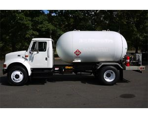 International 4900 LPG Tank Truck