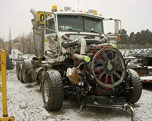 Peterbilt 367 Salvage Truck
