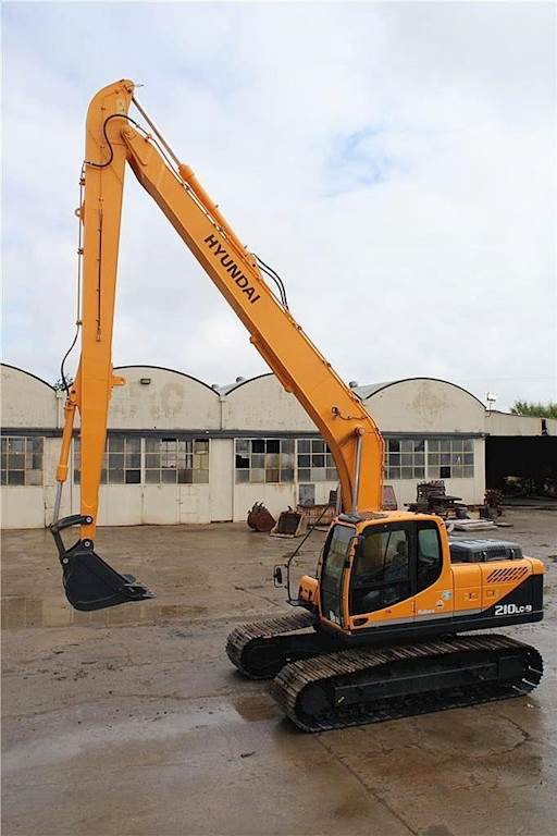 2011 Hyundai ROBEX 210 LC-9 Long Reach Excavator For Sale, 2,950 Hours |  Stockton, CA | 3914 | MyLittleSalesman com