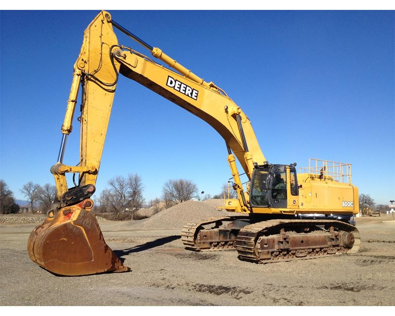 2004 John Deere 800C Excavator For Sale - Redding, CA ...