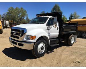 Ford F-750 Heavy Duty Dump Truck