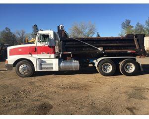 Peterbilt 378SB Heavy Duty Dump Truck