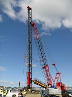 2010 BRUCE SGH1412 Hydraulic Pile Driver For Sale - Redding