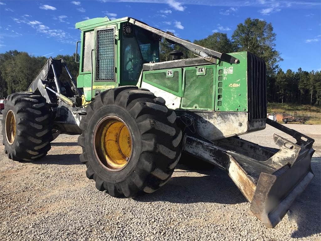 Cab Redding Ca >> 2008 John Deere 648H Wheeled Grapple Skidder For Sale, 12,500 Hours | Redding, CA | 9580179 ...