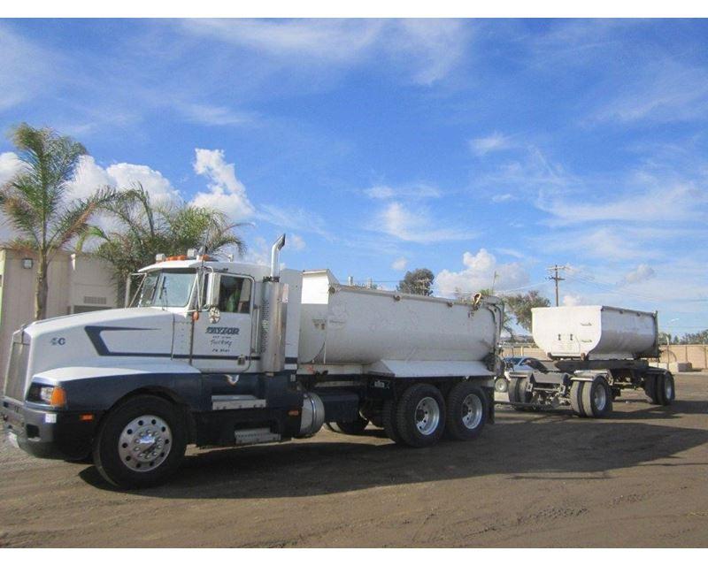 1988 Kenworth T600 Transfer Dump Truck For Sale - Redding ...