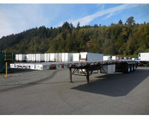 Wilson Road Brute- Quad Axle Flatbed Agriculture Trailer
