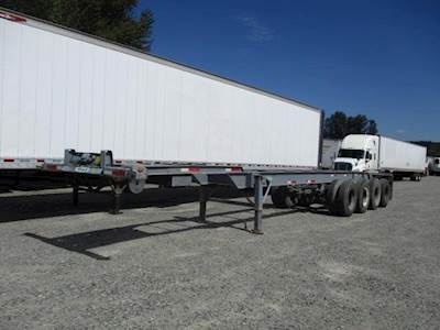 1974 GINDY 40' QUAD AXLE CHASSIS Quad Axle Steel Container Chassis - Spring, Fixed Axle