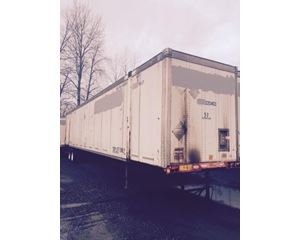 Wabash Duraplate-HighCubeDry frt DomesticContainer Container / Storage Trailer