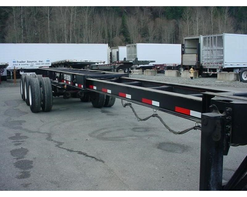 Container Chassis Lights : Cimc container trailer chassis for sale orting wa
