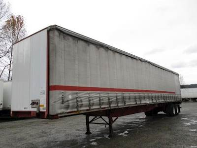 2006 UTILITY CURTAIN SIDE AIR RIDE SWING DOOR Curtain Side Trailer