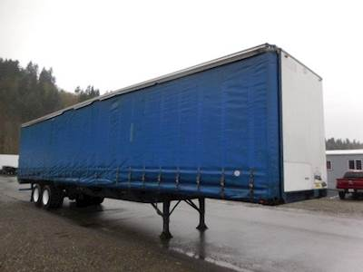 1995 UTILITY TAUTLINER  48u0027 CURTAIN VAN Curtain Side Trailer