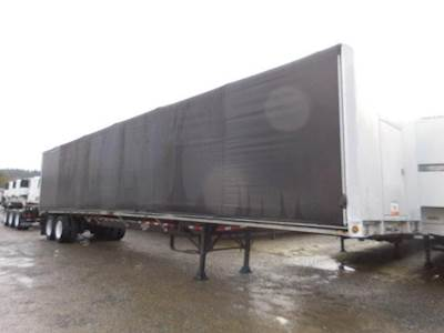 2002 Wilson ROAD BRUTE AIR RIDE FLATBED WITH MOFFETT KIT AND C Curtain Side  Trailer fd9f5dff15