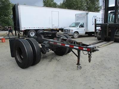 1994 EIGHT POINT CONVERTER DOLLY 84'' DRAW BAR Single Axle Combination Dolly Trailer - Spring, Fixed Axle