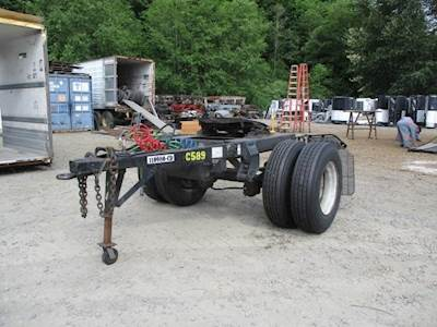 1997 EIGHT POINT CONVERTER DOLLY EXTENDED REACH DRAW BAR Dolly Trailer