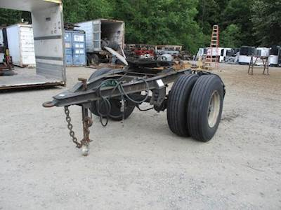 1993 UTILITY CONVERTER DOLLY 96'' WIDE Single Axle Combination Dolly Trailer - Spring, Fixed Axle