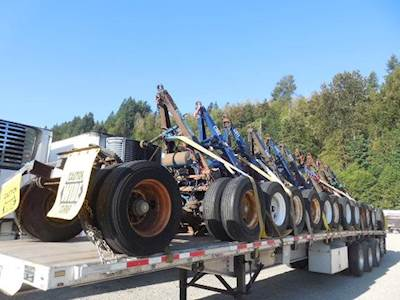 2003 Wabash Converter Dolly Dolly Trailer