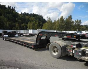 Diamond Extendable-40 ton double drop-Lowboy-RGN Double Drop Trailer