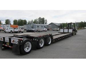 Trail King TK-60 MD-482-Double drop RGN with flip/pin on 3rd axle Double Drop Trailer