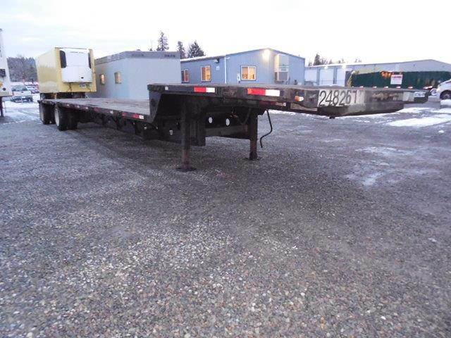 Step Deck Trailer >> 2002 Transcraft Dtl 2100 Steel Widespread Air Ride Step Deck Drop