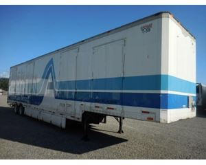 Kentucky MOVING VAN- SINGLE DROP DRY VAN Drop Frame Trailer
