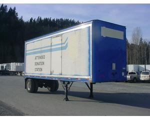 Comet Roll door dry van - Dry trailer Dry Van Trailer