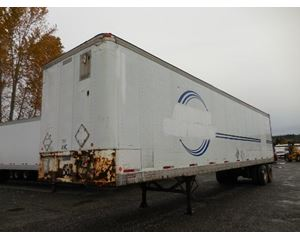 Fruehauf Swing Door Air Ride Insulated Dry Van Dry Van Trailer
