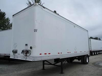 2009 Great Dane 28 ft Dry Van Trailer - Roll up Door, Spring, Single Axle, Fixed Axle
