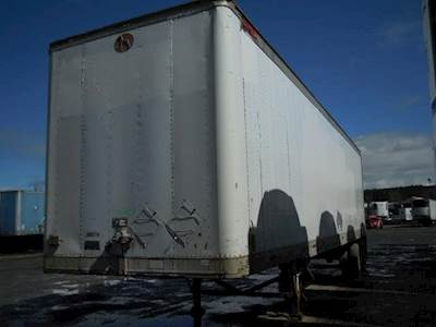 1999 Great Dane 40 ft Dry Van Trailer - Swing Door, Spring, Sliding Axle