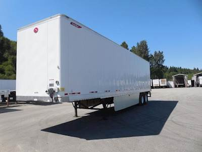 2014 Great Dane 42x102 Tandem Axle Combination Dry Van Trailer, Air Ride, Sliding Axle