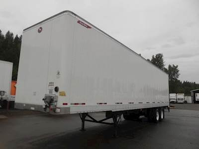 2016 Great Dane 42x102 Tandem Axle Combination Dry Van Trailer, Air Ride, Sliding Axle