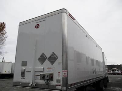 2020 Great Dane 28 ft Dry Van Trailer - Swing Door, Air Ride, Single Axle, Fixed Axle